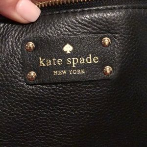 kate spade Bags - Kate Spade Black leather shoulder bag